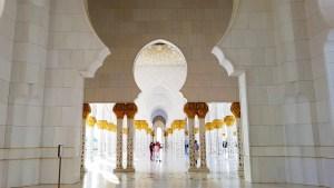 Grand Mosque Hallways