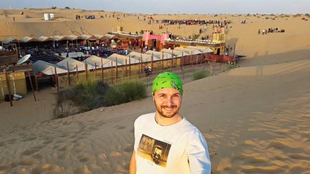 Selfie at Desert Safari