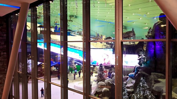 Ski Slope in Dubai Mall