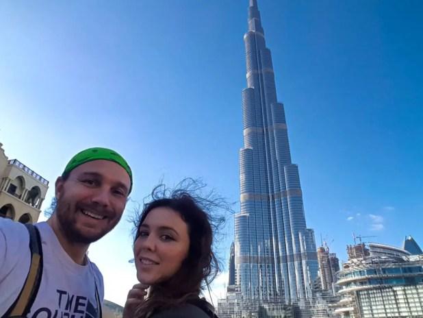 Skye and I in Dubai