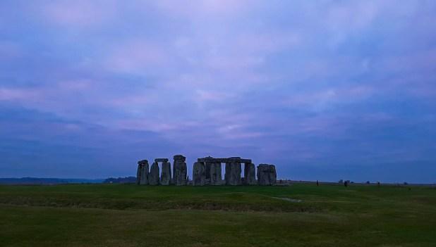 Stonehenge from the Bridge