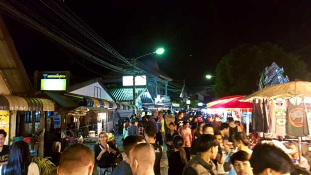 Pai Walking Street