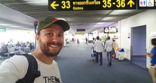 Selfie on Flight from Bangkok to Penang
