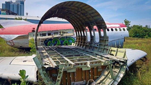 Fuselage Section of MD-82