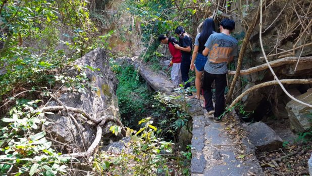 Huay Kaew Waterfall Trail