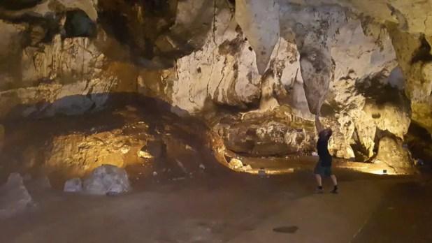 Selfie in Muang On Cave