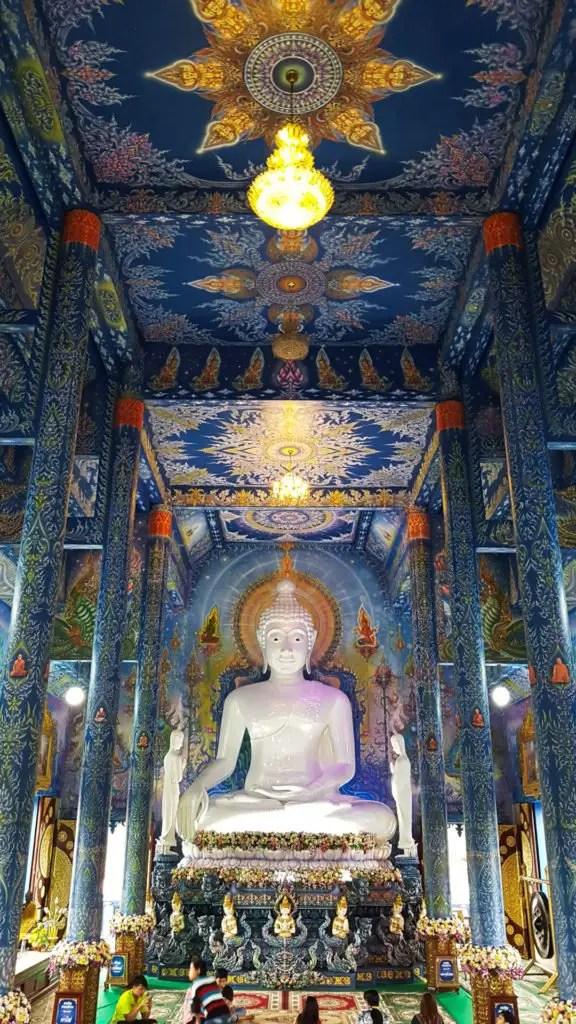 Blue Temple Chiang Rai #3