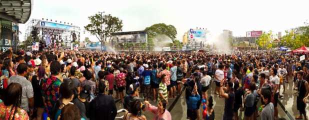 Splash at Maya for Songkran