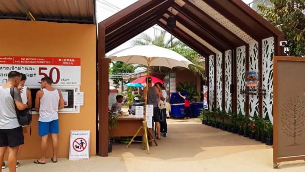 Chiang Mai Water Park Entrance