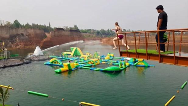 Chiang Mai Water Park Jump