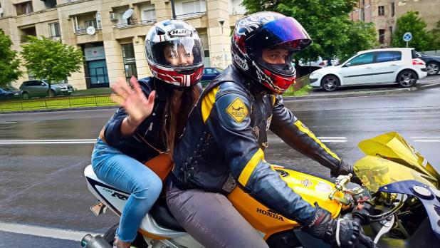 Black Helmets Ride