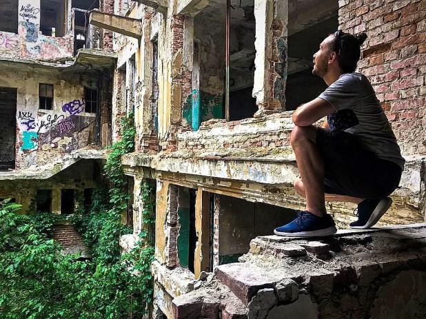 Selfie at Palatul Adevarul