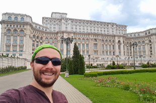 Selfie at the Palace of the Parliament