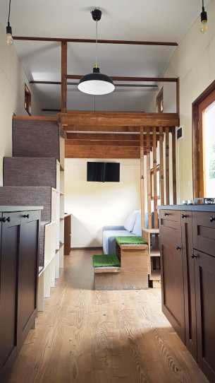 Eco Tiny House Interior #3