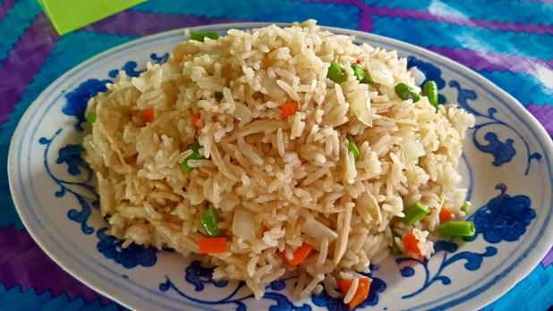 Rice Breakfast in Huay Xai