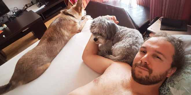 Selfie Dogsitting