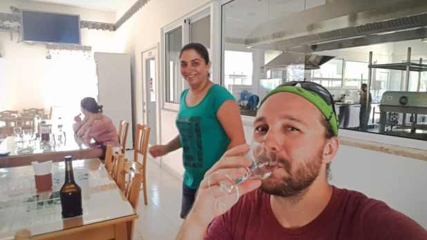 Selfie Wine Tasting at Monagri Grap Farm #2