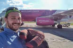 Selfie with Wizz Air