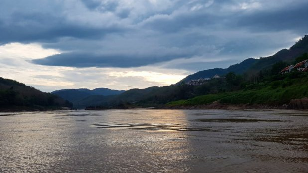 Slow Boat on the Mekong View #8
