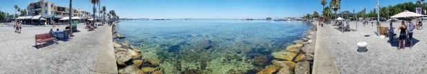 Paphos Harbor Panorama