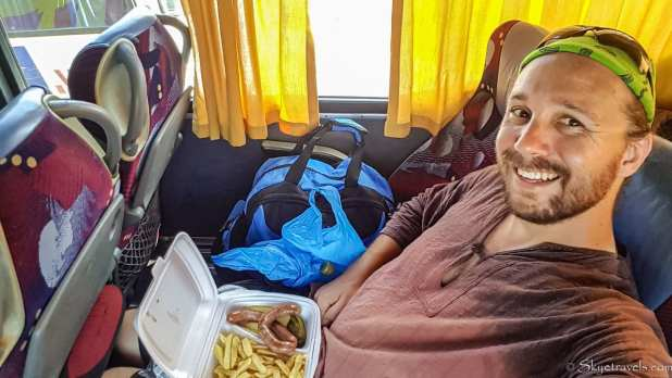 Selfie on Bus to Moldova
