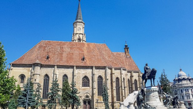 St. Michael's Church in Cluj