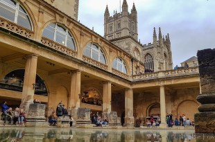 Roman Baths and Bath Abbey