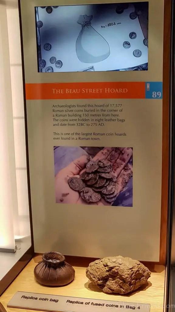 Roman Coins at the Roman Baths