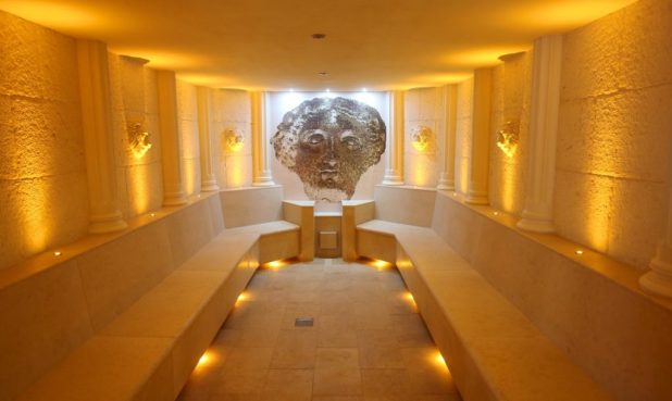 Roman steam room at the Thermae Bath Spa Wellness Suite