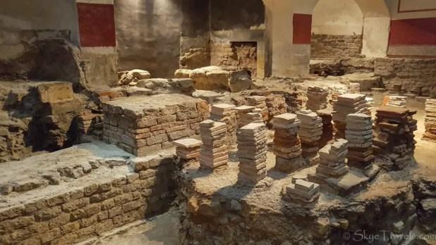 Sauna Room at the Roman Baths