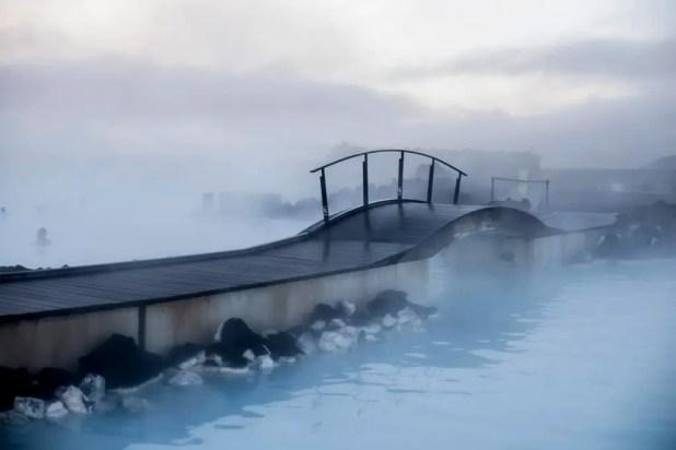 Bridge at the Blue Lagoon