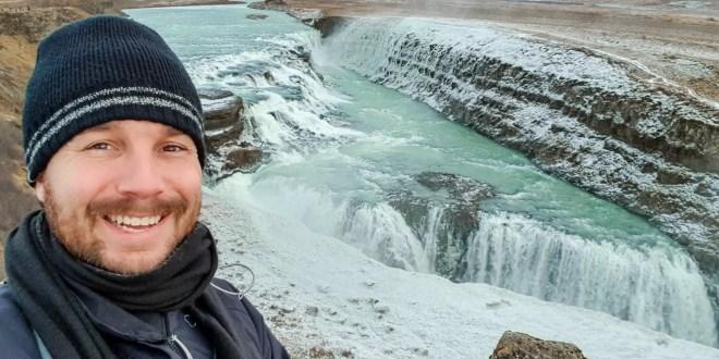 Selfie in Iceland