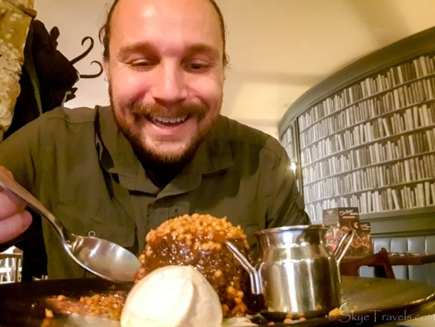 Selfie with Dessert at Zizzi