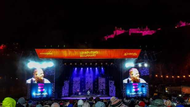 Rag'n'Bone Man at Hogmanay