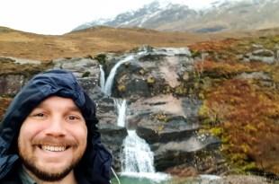 Selfie at Meeting of Three Waters