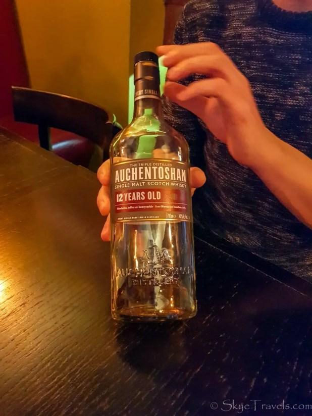 Whiskey at Whiski Rooms