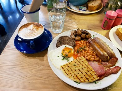 Cafe Class Scottish Breakfast #2