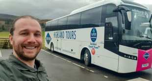 Selfie with Gray Line Tour Edinburgh to Loch Ness