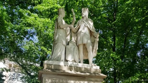 Jadwiga and Jagiello Monument Krakow