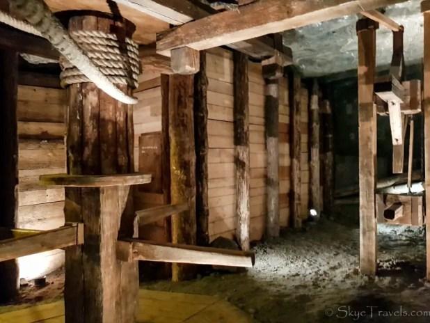 Salt Mine in Krakow Horse Treadmill