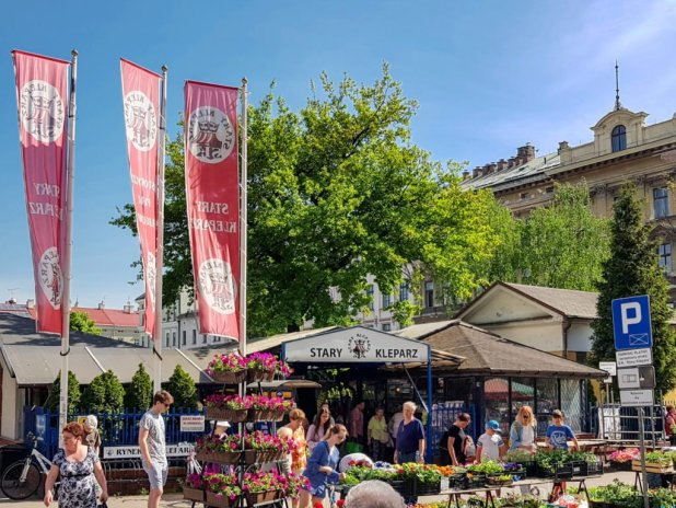 Stary Kleparz Farmer's Market