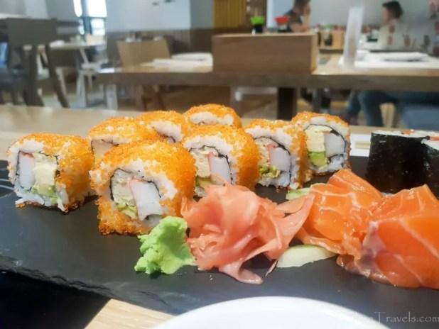 Sushi Lunch in Krakow