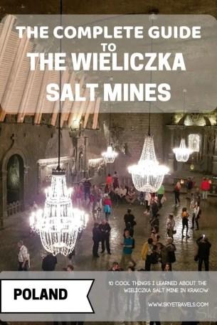 The Wieliczka Salt Mines Pin