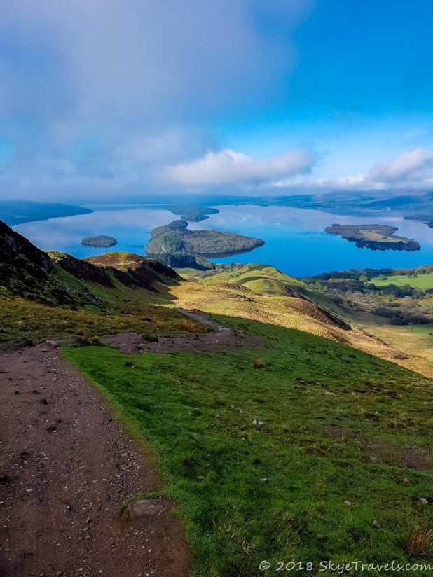 Trail Down Conic Hill