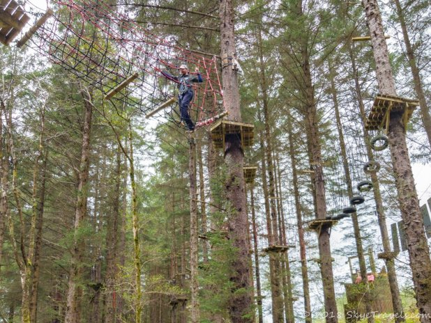 Tree Adventure Course at Nevis Range