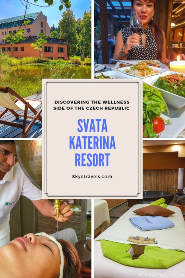 The Svata Katerina Resort possibly seems out of place in the country that has the highest beer consumption per capita in the world. Not so. Read on.