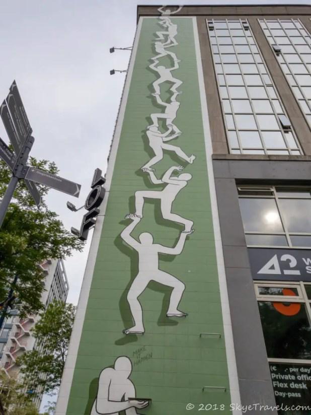 Rotterdam - Make it Happen Street Art