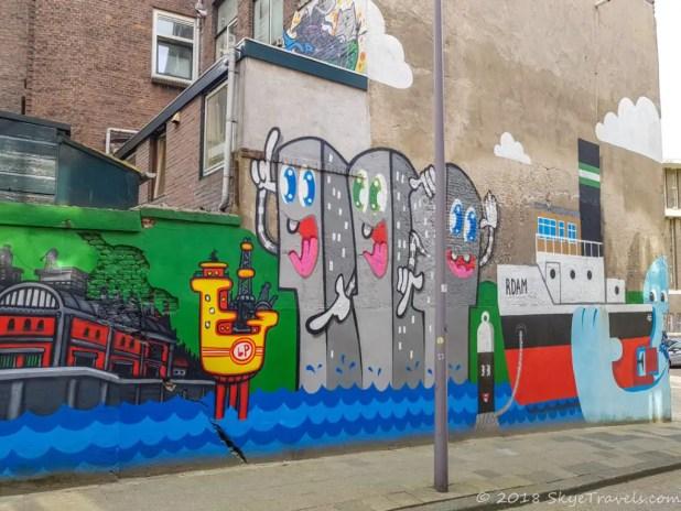 Best Rotterdam Street Art