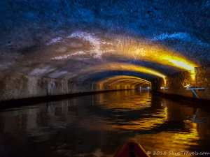 Underground Kayaking Tunnel in Ghent