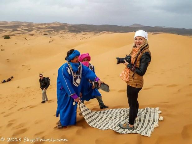African Desert Safari Magic Carpet Ride